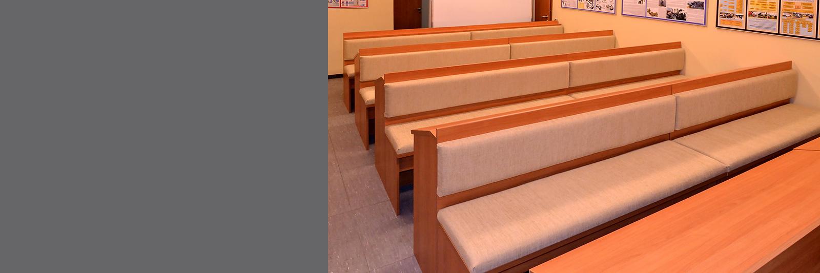 Столы парты с сиденьями по индивидуальному заказу
