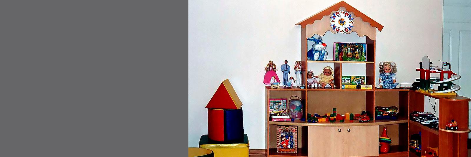Игровая мебель по индивидуальному заказу для детского сада