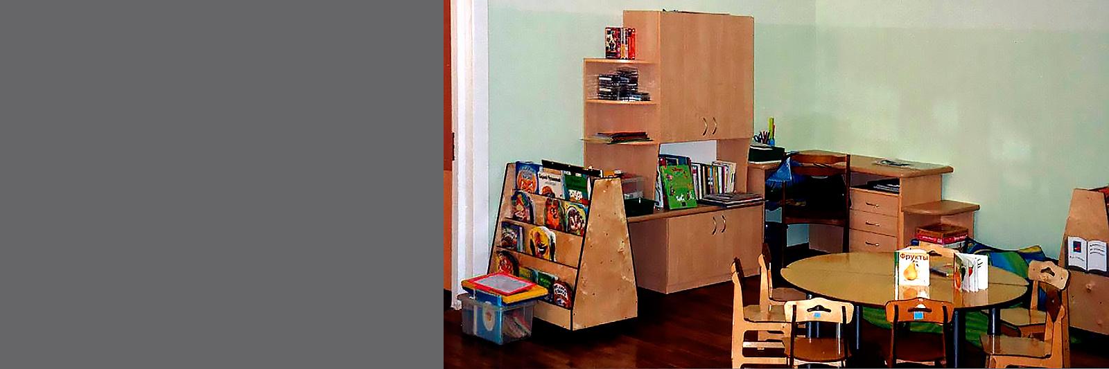 Мебель для игровой зоны на заказ в детском саду