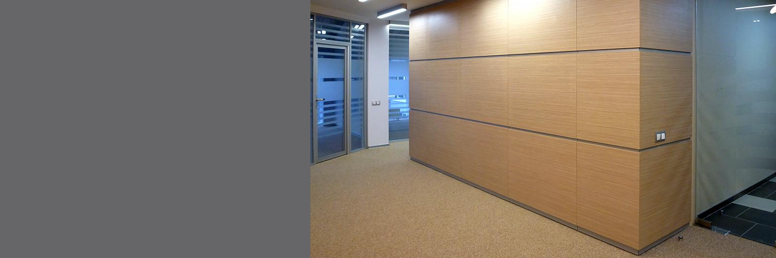 Стеновые панели для офиса на заказ из ламинированной ДСП