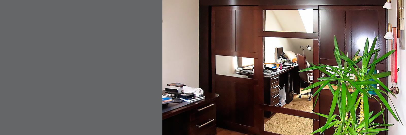 Мебель для персонала. Офисные шкафы купе на заказ