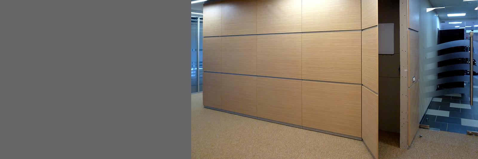 Стеновые панели на заказ с потайной дверью