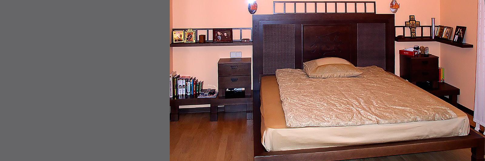 Спальня на заказ по индивидуальному проекту