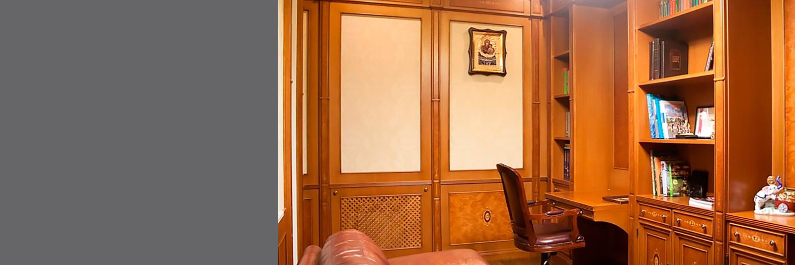 Эксклюзивная мебель в домашние кабинеты из массива
