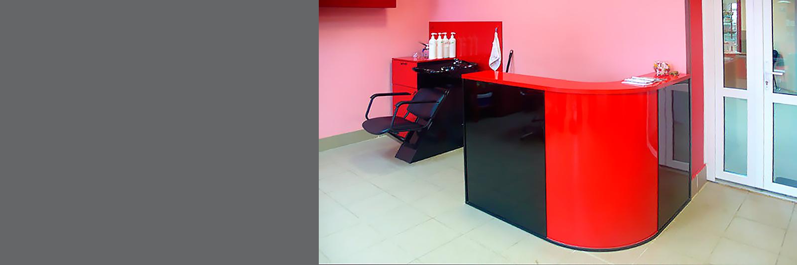 Мебель для салона красоты по индивидуальному проекту