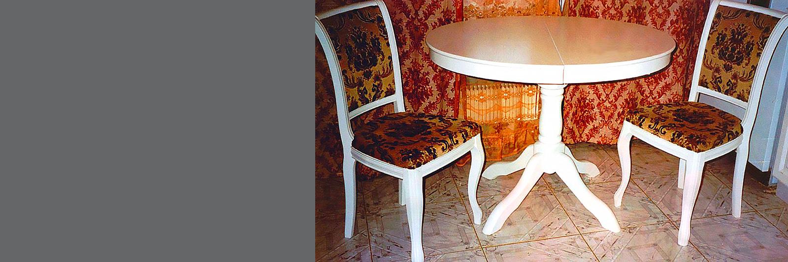 Стол для кафе круглый под заказ. Эмаль
