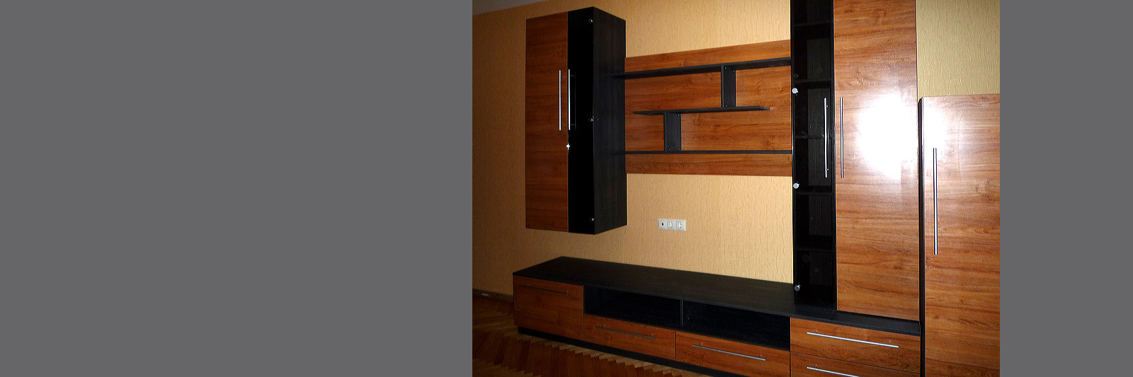 Современные мебельные стенки на заказ