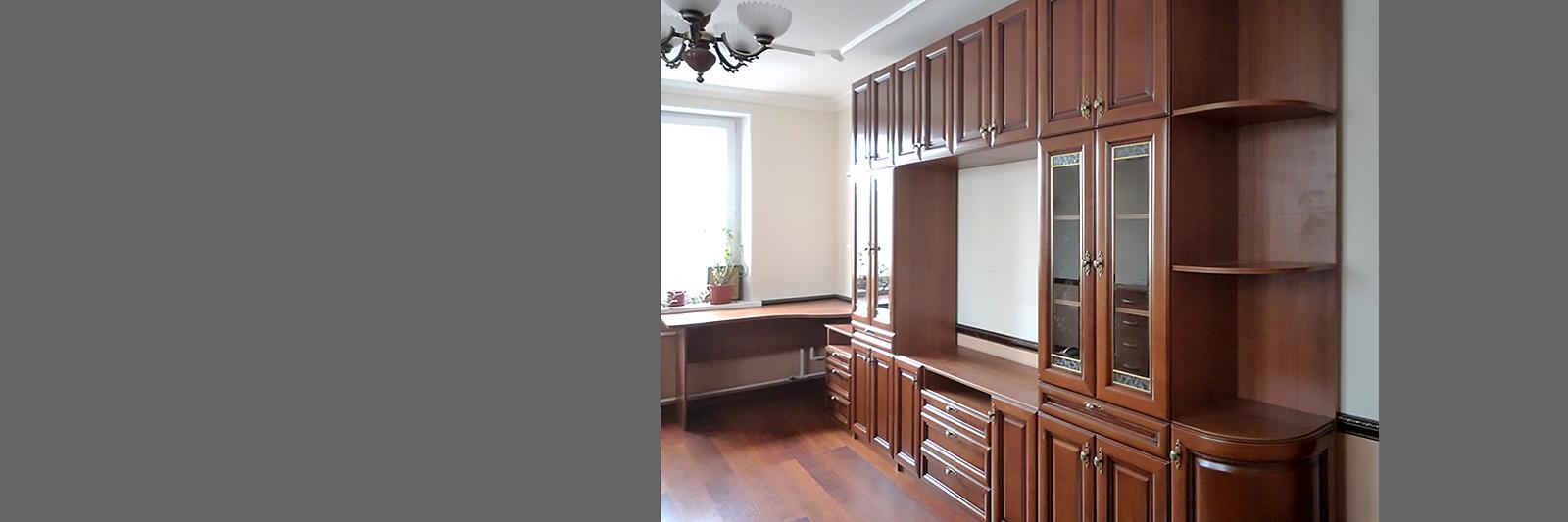 Мебель в домашние библиотеки и кабинеты на заказ