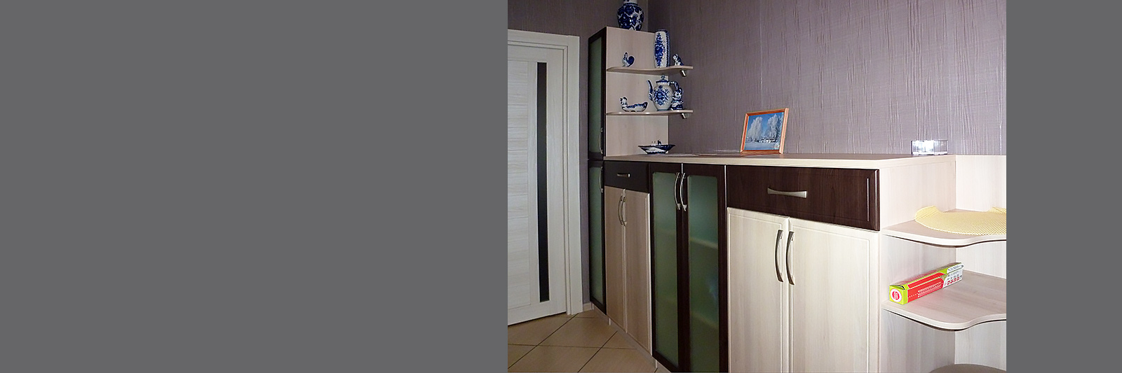 Комплект тумб со шкафом по индивидуальному проекту