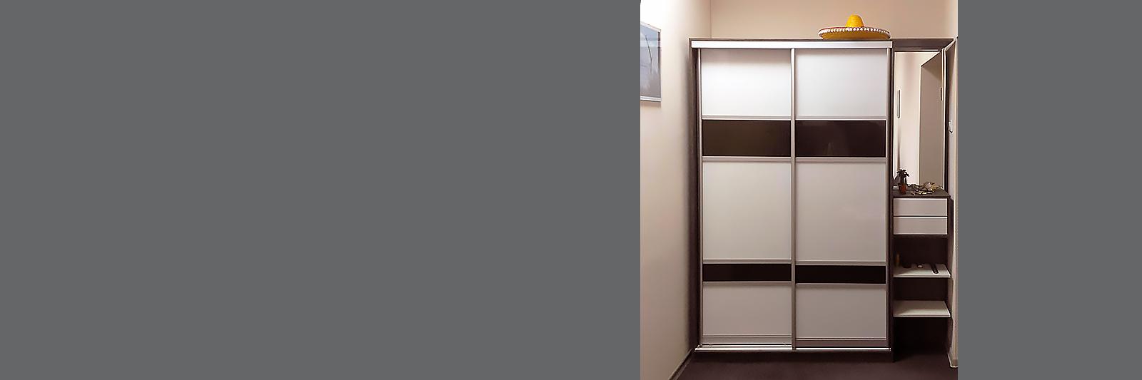 Шкаф-купе для верхней одежды по индивидуальным размерам
