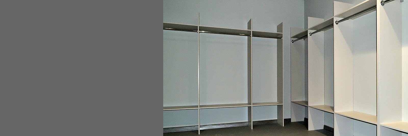 Мебель для гардеробной в офис на заказ