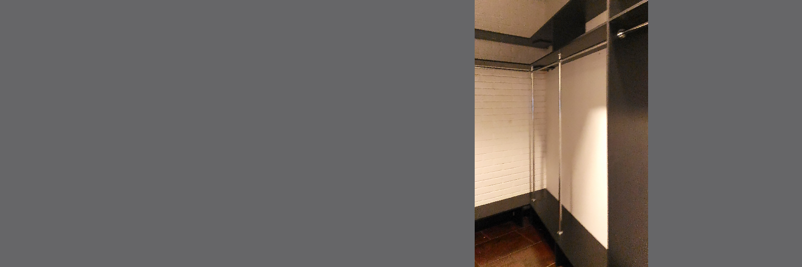 Офисная гардеробная с металлокаркасом на заказ