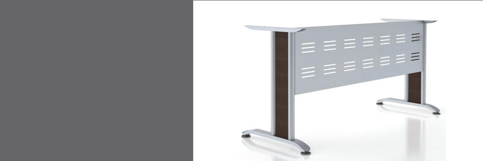 Металлокаркасы ФОРТЕ со вставками для рабочих столов