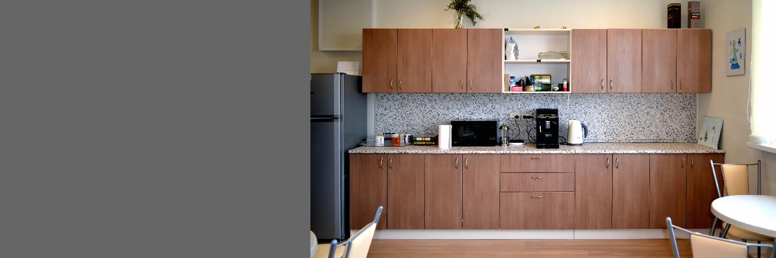Кухня для офиса по индивидуальным размерам