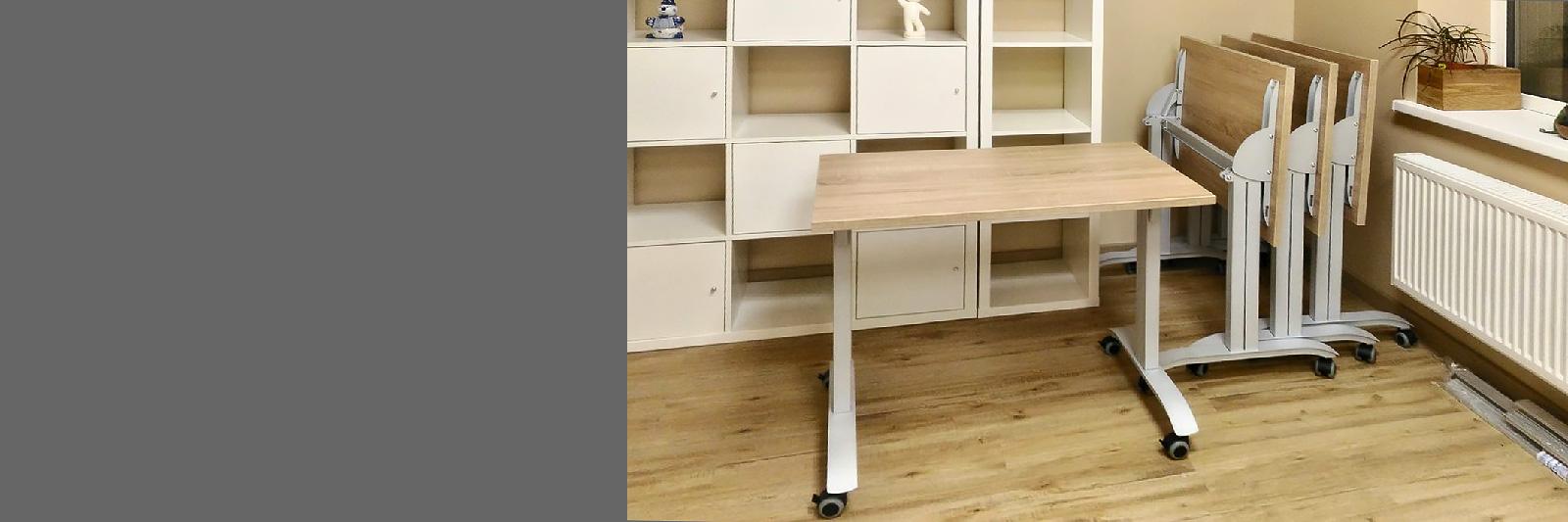 Мобильные столы со складной столешницей по индивидуальному заказу
